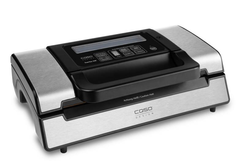 Вакуумный упаковщик CASO FastVAC 500 вакуумный упаковщик redmond rvs m020 gray metallic