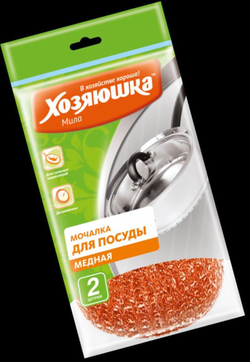 Мочалка для посуды Хозяюшка Мила 02012