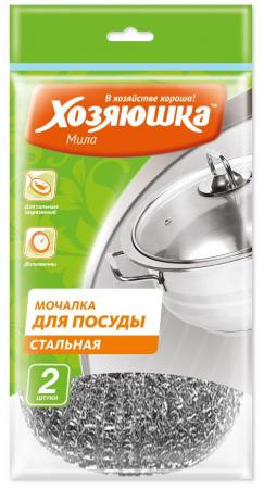 Мочалка для посуды Хозяюшка Мила 02013 брюки спортивные мама мила мама мила mp002xw0f6h0