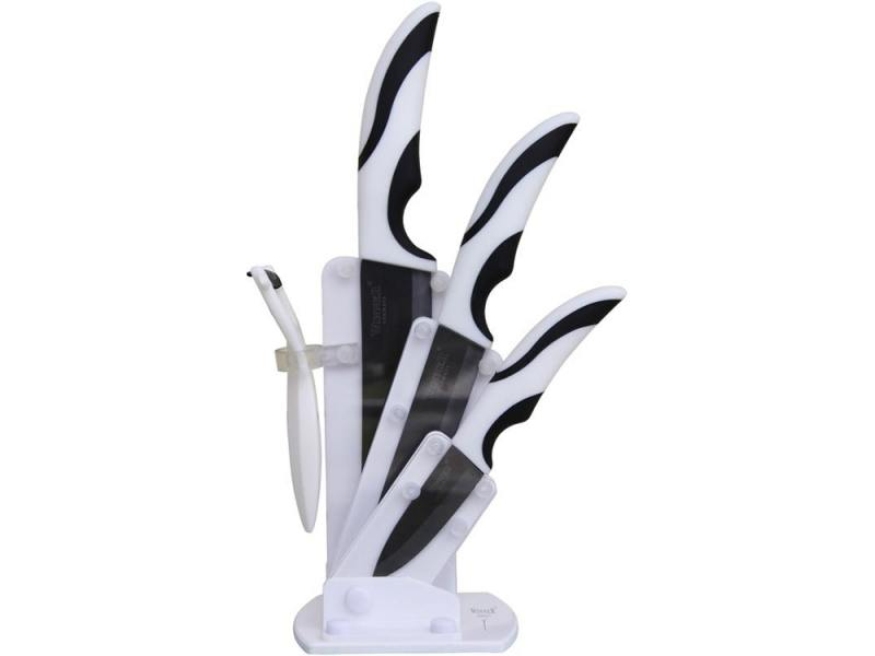 Набор ножей Winner WR-7323 5 предметов циркониевая керамика набор ножей 6 шт winner набор ножей 6 шт
