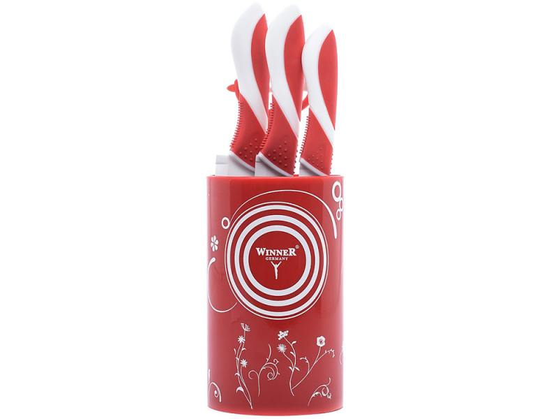 Набор ножей Winner WR-7345 5 предметов керамика набор ножей 6 шт winner набор ножей 6 шт
