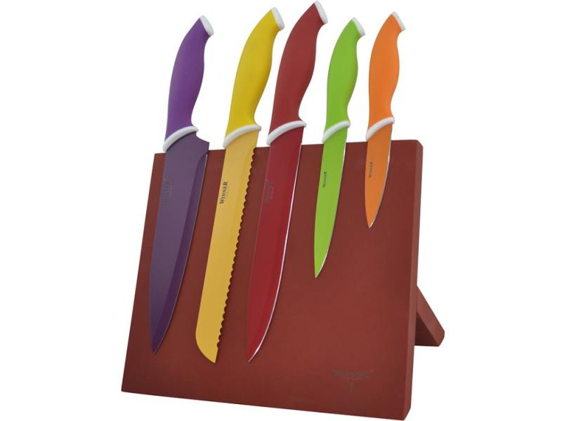 Набор ножей Winner WR-7329 6 предметов нержавеющая сталь набор ножей 6 шт winner набор ножей 6 шт