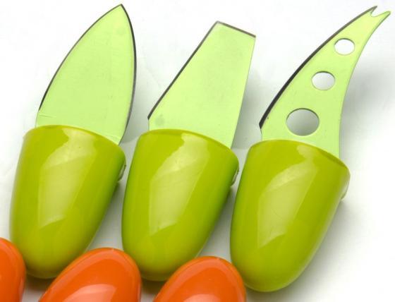 Набор ножей Mayer&Boch МВ-24188 3 предмета для сыра зеленый mayer boch противень 34х25 см керамика мв