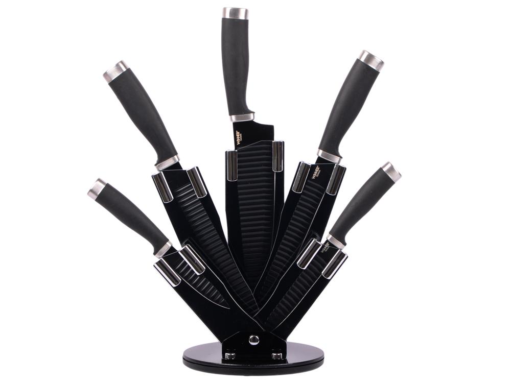 Набор ножей Winner WR-7349 6 предметов нержавеющая сталь набор ножей winner wr 7329 6 предметов нержавеющая сталь