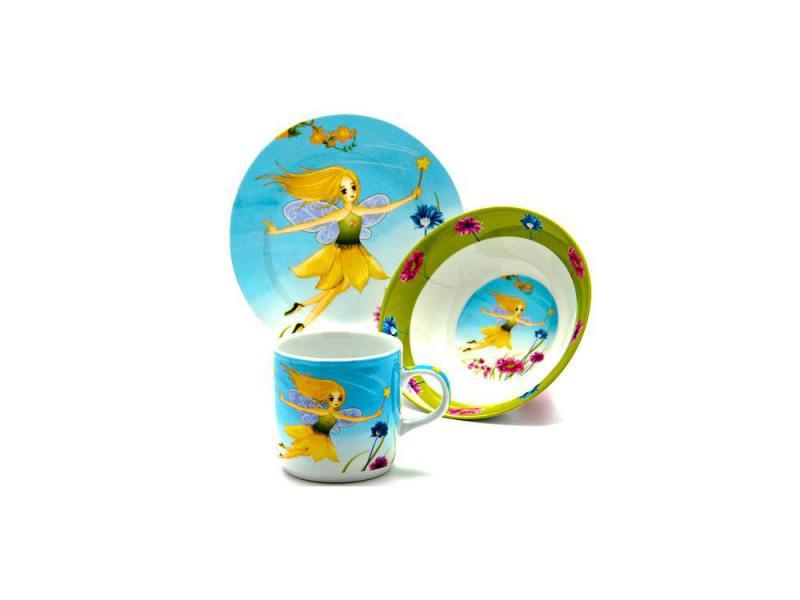 Набор посуды Loraine Фея LR-24026 3 предмета детский новый диск набор посуды магистр йода 3 предмета
