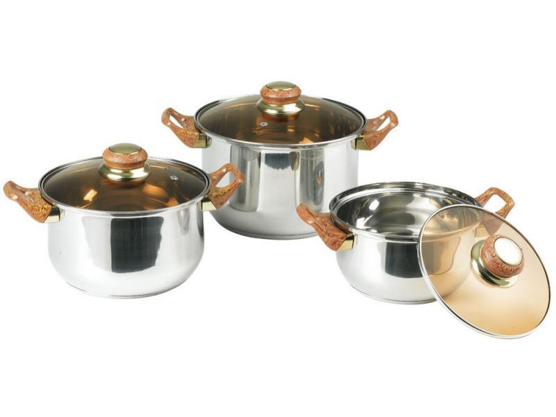 Набор посуды Bekker Classic BK-951 6 предметов от OLDI