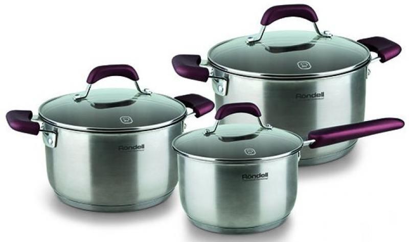 Набор посуды Rondell Bojole RDS-823 6 предметов
