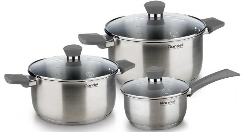 Набор посуды Rondell Bojole RDS-820 6 предметов набор посуды 3 пр rondell koralle 515rda