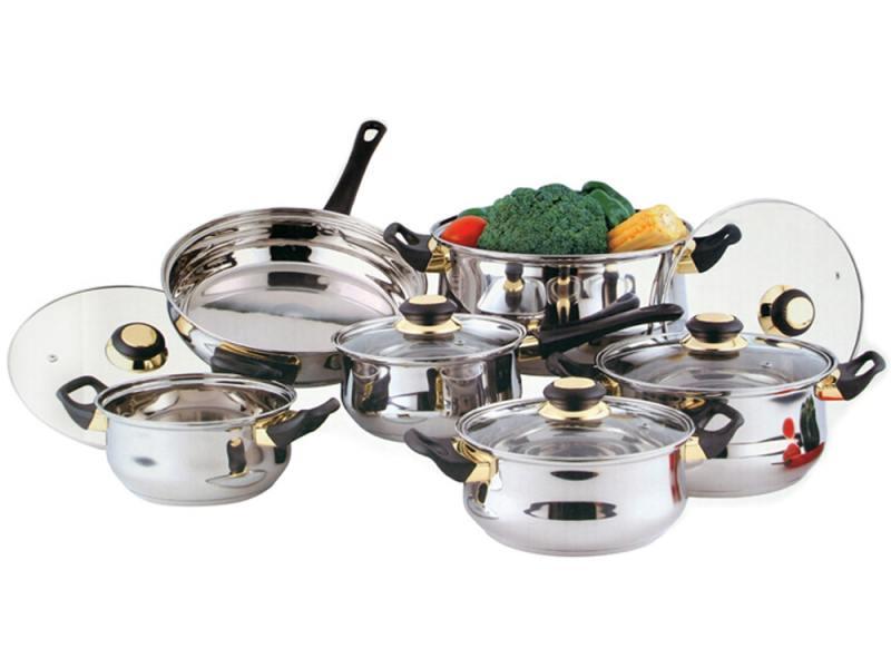 Набор посуды Bekker Classik BK-224 12 предметов