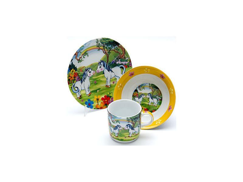 Набор посуды Mayer&Boch Пони 23391 3 предмета детский