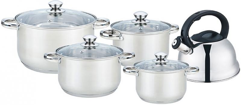 Набор посуды Bekker BK-2595 9 предметов bekker чайный сервиз bekker bk 7145 15 предметов ihygxrd