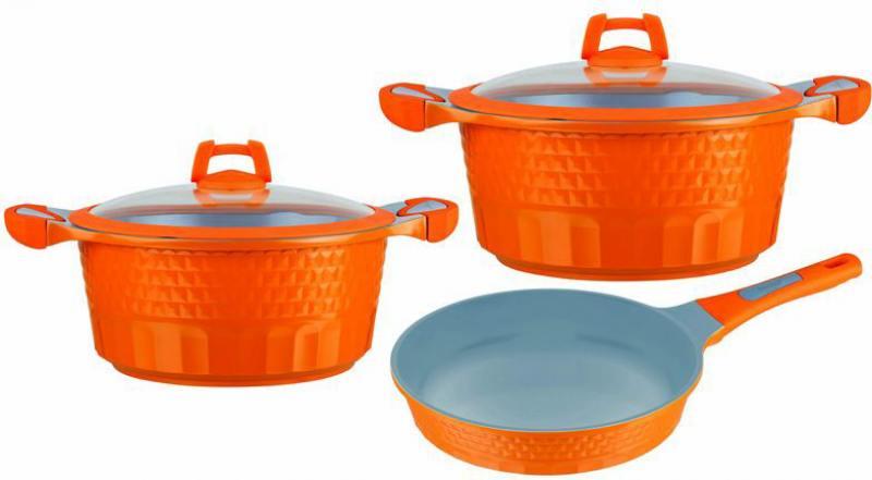 Набор посуды Winner WR-1302 5 предметов алюминий