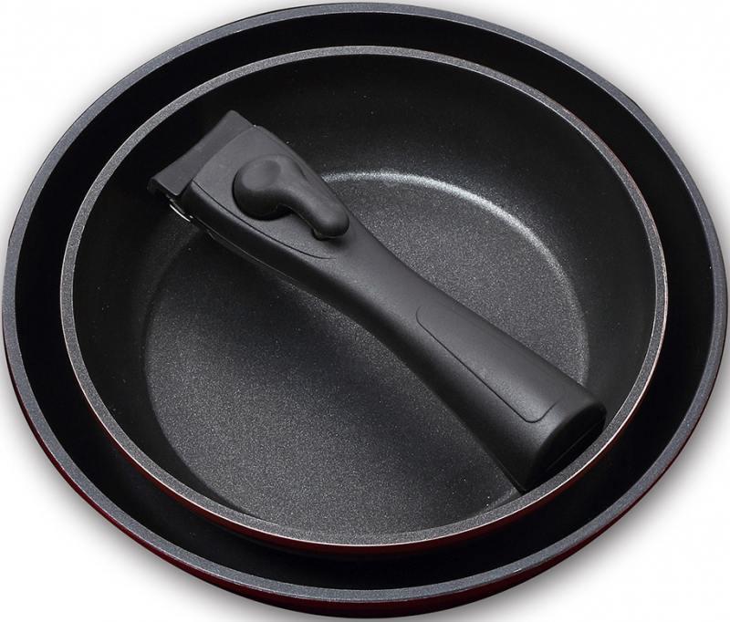 Набор посуды Bergner BG-8441-BY 3 предмета disney набор детской посуды королевские питомцы 3 предмета