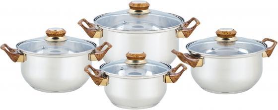 Набор посуды Bekker Classic BK-4604 8 предметов набор кастрюль bekker bk 4604