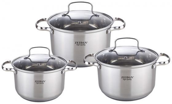 Набор посуды Zeidan Z-50615 набор посуды zeidan z 51101