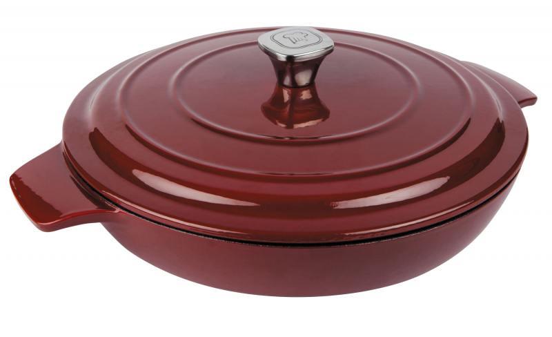 кастрюля rondell deep burgundy 24cm 2 7l rdi 700 Сотейник Rondell Noble Red RDI-707 30 см с/кр
