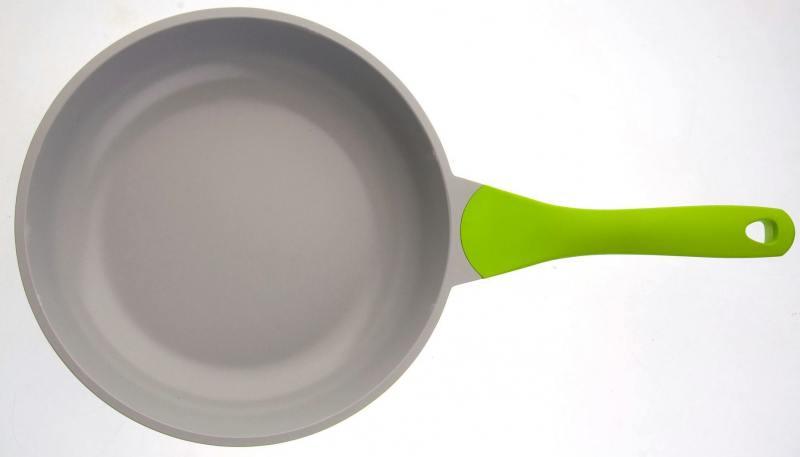 Сковорода BIOSTAL Bio-FP-28 28 см — алюминий, зеленый