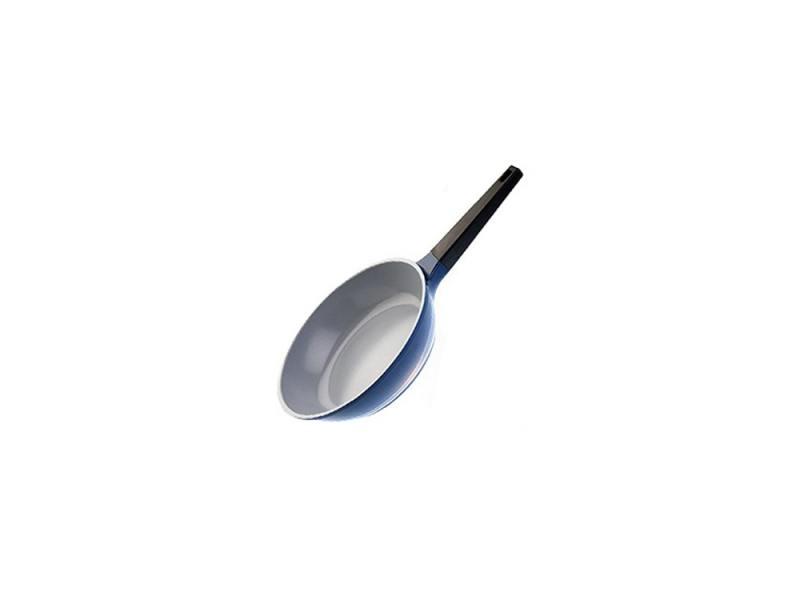 Сковорода BIOSTAL Bio-FP-26 26см сине-серый