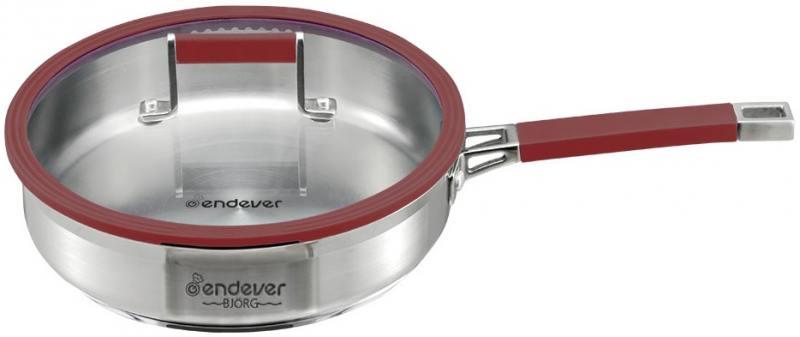 Сковорода ENDEVER BJORG-2406 24 см 2.7 л нержавеющая сталь