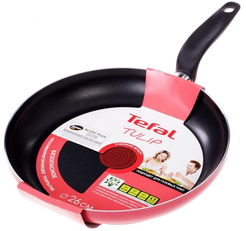 Сковорода Tefal Tulip 04146126 26 см алюминий