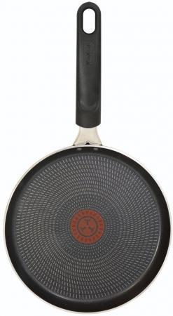 Сковорода блинная Tefal Extra 04165522 круглая 22см ручка несъемная (без крышки) черный (9100023393)