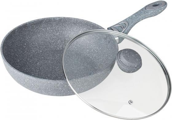 7909-BK Сковорода  ВОК BEKKER 28см moneta сковорода вок 4134328 zenit induction 28см