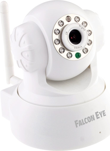 Камера Falcon Eye FE-MTR300Wt-P2P (Поворотная беcпроводная камера, 0,3 Мп, Белая) от OLDI