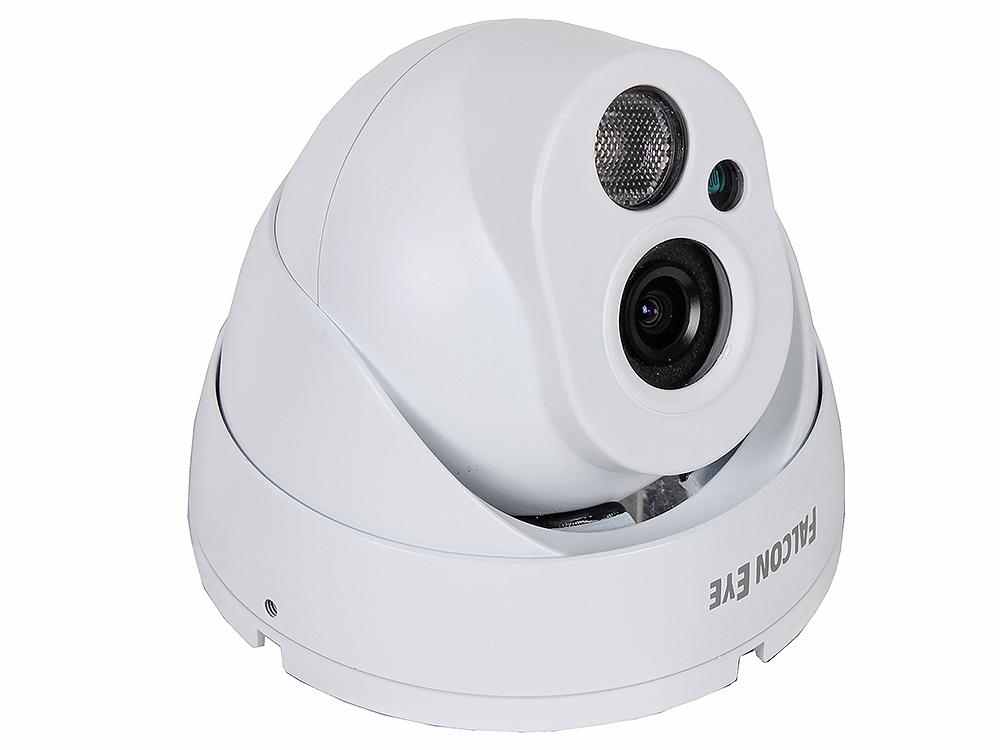 "IP-камера Falcon Eye FE-IPC-DL100P 1 мегапиксельная уличная купольная, H.264, протокол ONVIF, разрешение 1.0 Mega HD, матрица 1/4""0V 1.3 Mega pixels C от OLDI"