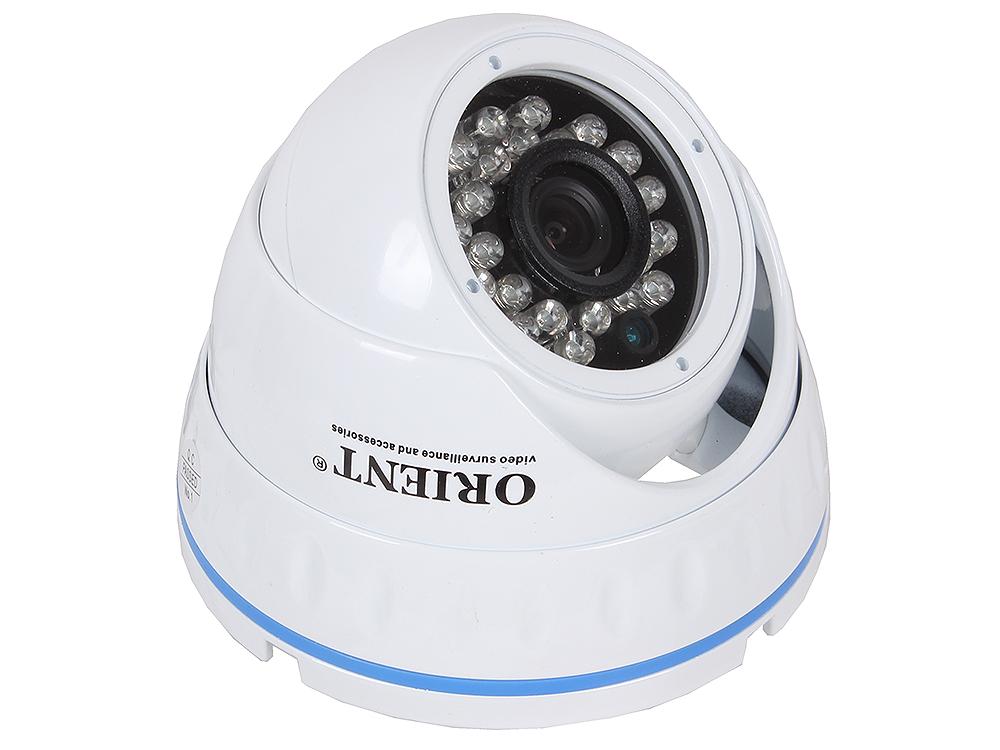 Камера наблюдения ORIENT IP-950-OH10B IP для установки внутри помещений, купольная, 1Mpix, 1280*720, F3.6, IR