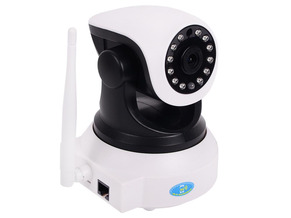 Камера VStarcam C7824WIP Поворотная беспроводная IP-камера 1280x720, 270*, P2P, 3.6mm, 0.8Lx., MicroSD камера видеонаблюдения vstarcam с7835wip wifi ip камера p2p