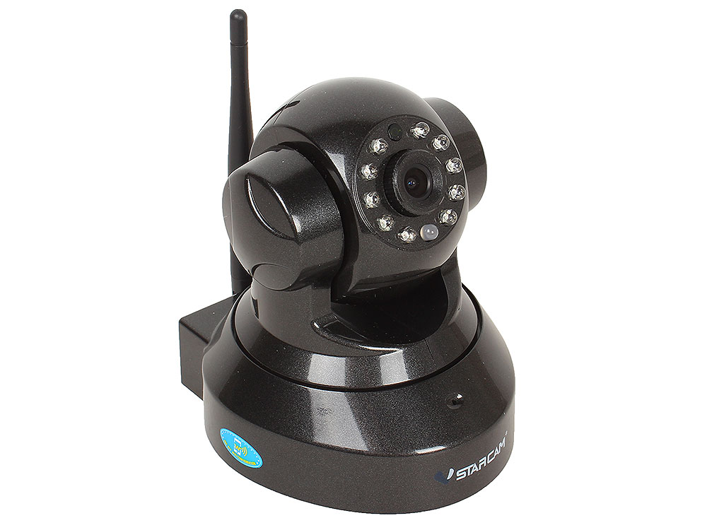 Камера VStarcam C9837WIP Поворотная беспроводная IP-камера 1280x960, 355*, P2P, 3.6mm, 0.8Lx., MicroSD ip камера vstarcam c8823wip