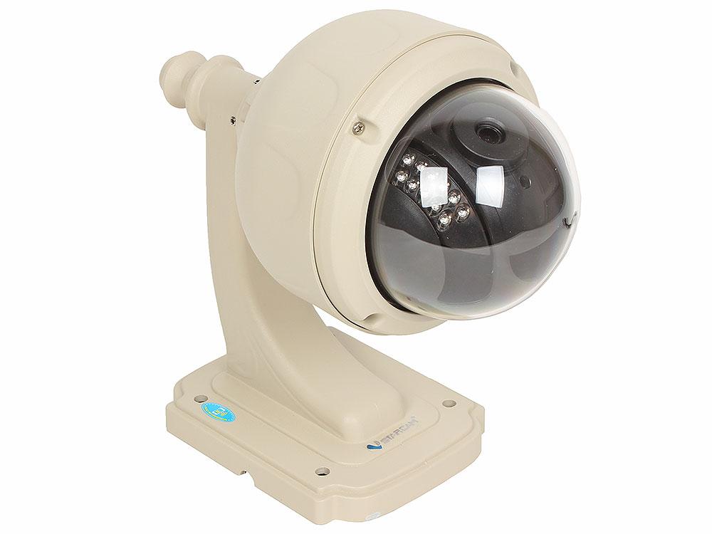 Камера VStarcam С7833WIP Уличная купольная беспроводная IP-камера 1280x720, P2P, 3.6mm, 0.8Lx., MicroSD ip камера vstarcam c7893wip 3 6мм 1280x720 угол 56° 802 11 b n