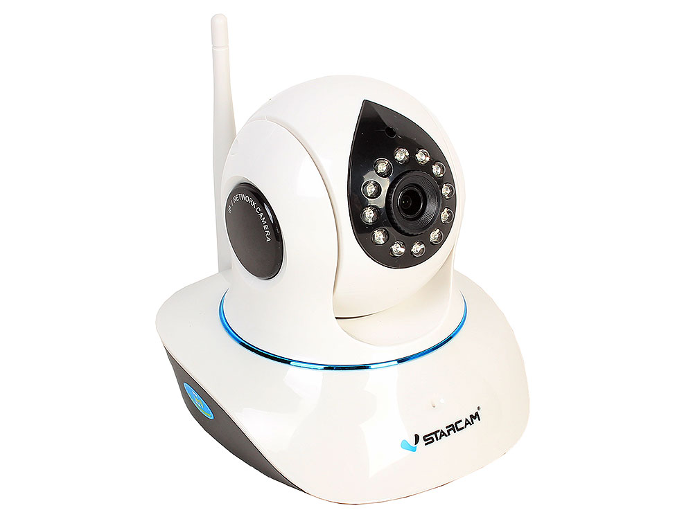 Камера VStarcam C8838WIP Беcпроводная IP-камера 1920x1080, 355°, DuplexAudio, P2P, 3.6mm, 0.8Lx., MicroSD ip камера vstarcam c8824wip black white