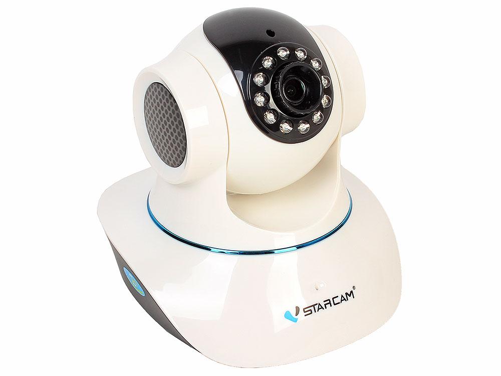 Камера VStarcam C7835WIP Беcпроводная IP-камера 1280x720, 355°, P2P, 3.6mm, 0.8Lx., MicroSD UpTo128Gb ip камера vstarcam c7838wip mini c7823 3 6мм 1280x720 24fps угол 56° 802 11 b n