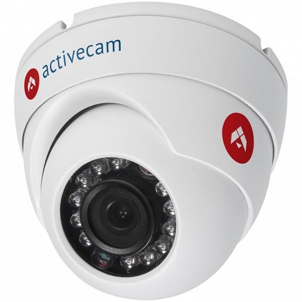IP-камера ActiveCam AC-D8121IR2 3.6мм 1/2.7 1920х1080 H.264 Day-Night PoE видеокамера ip activecam ac d2121wdir3 1 9 мм белый