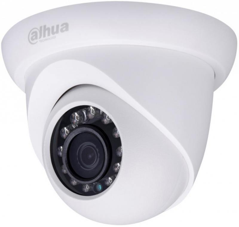 IP-видеокамера Dahua DH-IPC-HDW1320SP-0280B 2.8мм 1/3 2048х1536 H.264 MJPEG PoE dahua 4pcs 4mp poe ip camera dh ipc hfw4421s system security camera outdoor 8ch 1080p nvr4108 8p kit h 264 video recorder