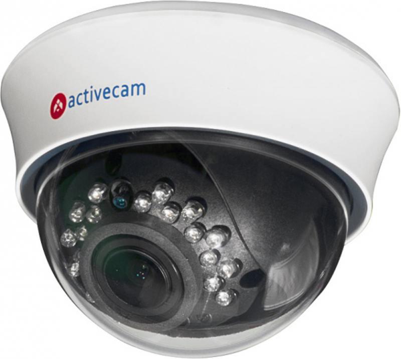 IP-камера ActiveCam AC-D3123IR2 2.8-12мм 1/2.8 1920х1080 H.264 Day-Night PoE видеокамера ip activecam ac d2121wdir3 1 9 мм белый