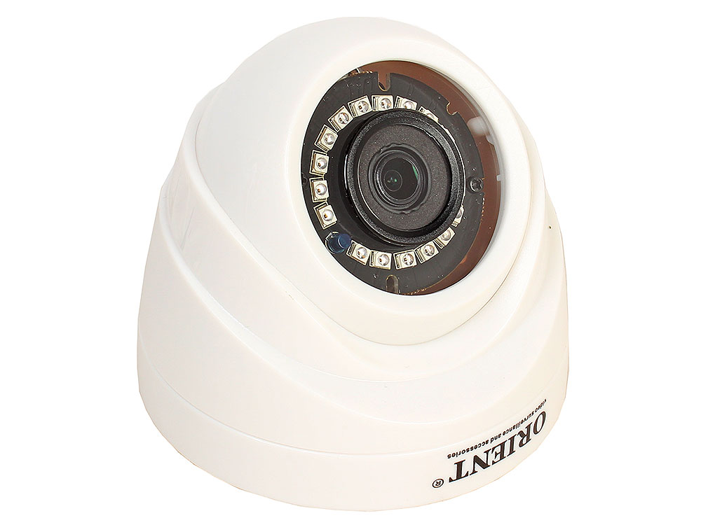 Камера наблюдения ORIENT IP-940-OH10B IP-камера с аудиовходом купольная, 1/4 OmniVision 1 Megapixel CMOS Sensor (OV9732+Hi3518E), 2 Megapixel HD Lens 1080p hd h 264 onvif 2 0 megapixel 22ir pan tilt dome outdoor network wireless surveillance recorder wifi ip camera cctv camera