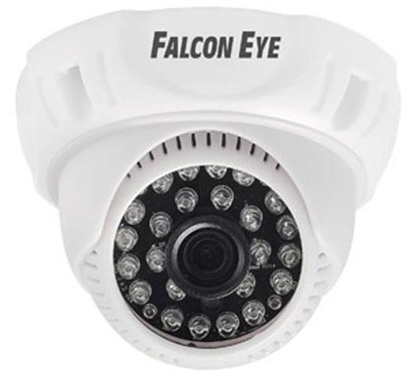 Камера Falcon Eye FE-D720MHD/20M Купольная цветная AHD видеокамера 720P AHD, CVI, TVI, CVBS), 1/4' H42 1 Megapixel CMOS, 1280?720(25 fps)