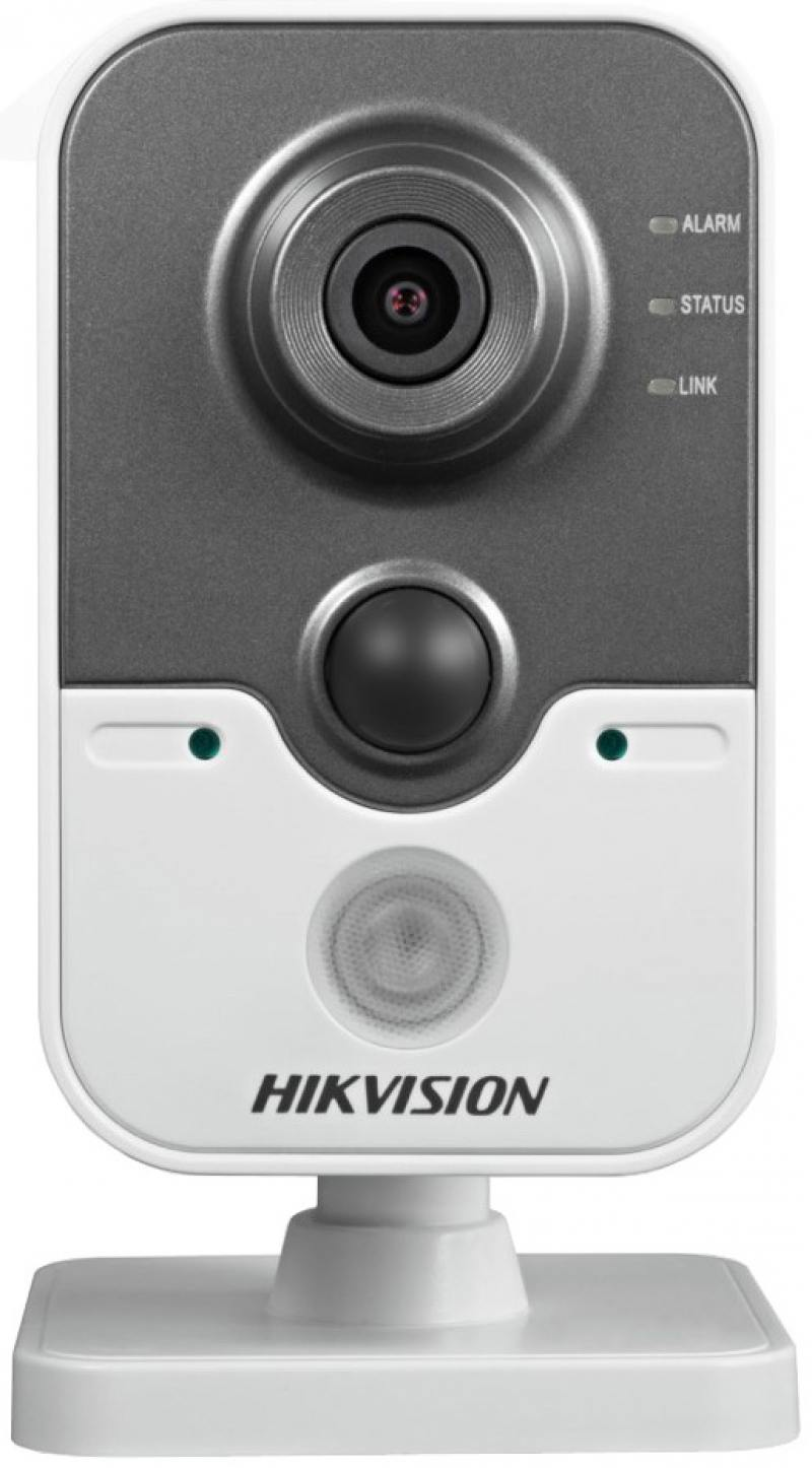 IP-камера Hikvision DS-2CD2442FWD-IW 2мм 1/2.8 2688x1520 H.264 MJPEG H.264 + Day-Night PoE wanscam hw0023 720p hd 36 leds ir cut h 264 pnp wifi wireless outdoor waterproof night vision security system network ip camera