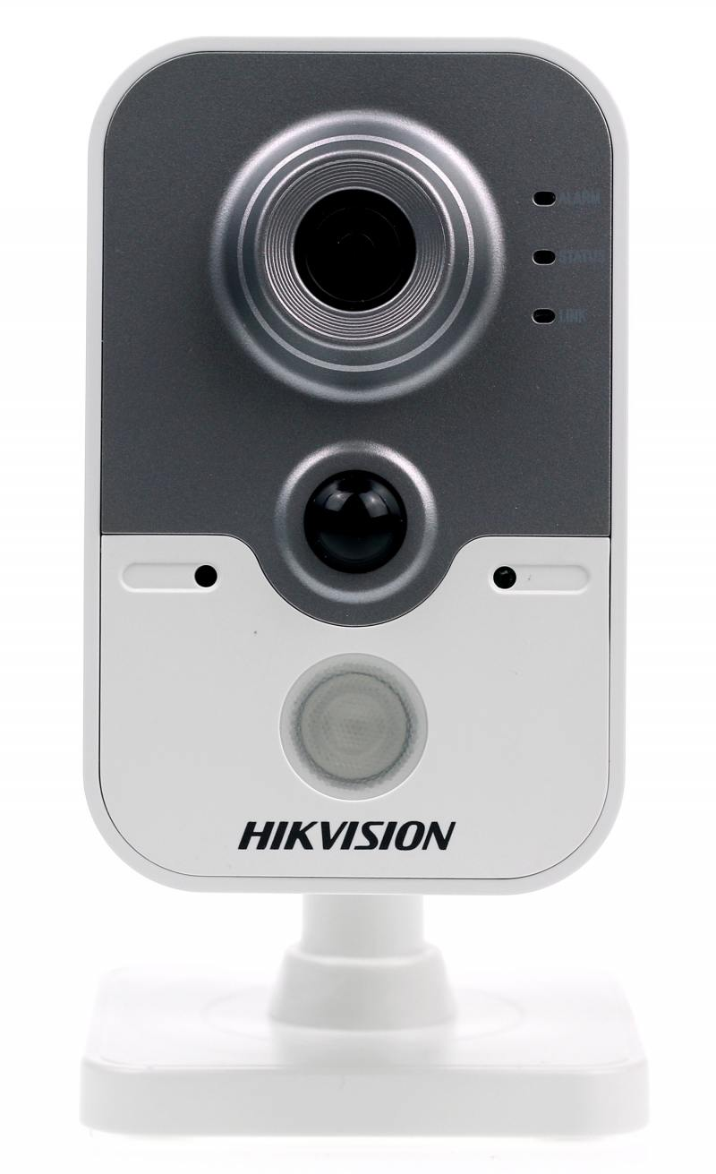 IP-камера Hikvision DS-2CD2442FWD-IW 4мм CMOS 1/2.8 2688 x 1520 H.264 MJPEG RJ-45 LAN PoE белый серый [ in stock ] hikvision overseas wireless ip camera indoor outdoor ds 2cd2442fwd iw 4mp wifi camera built in microphone