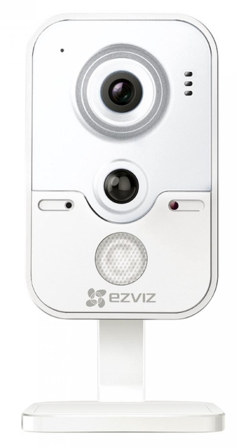 Камера IP EZVIZ C2W CMOS 1/4 1280 x 720 H.264 RJ-45 LAN Wi-Fi PoE белый CS-CV100-B0-31WPFR камера ezviz c4s poe