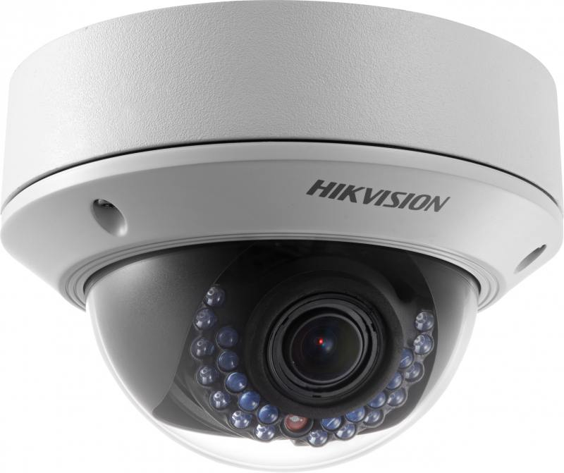 IP-камера Hikvision DS-2CD2722FWD-IZS CMOS 1/2.8 1920 x 1080 H.264 MJPEG RJ-45 LAN PoE белый hd 1080p indoor poe dome ip camera vandal proof onvif infrared cctv surveillance security cmos night vision webcam freeshipping