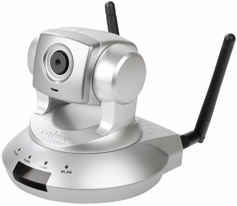 Камера IP Edimax IC-7000PTN CMOS 1/3'' 1280 x 1024 MJPEG MPEG-4 RJ-45 LAN Wi-Fi серебристый c101 0 3mp 1 4 cmos p2p surveillance ip network camera with wi fi tf