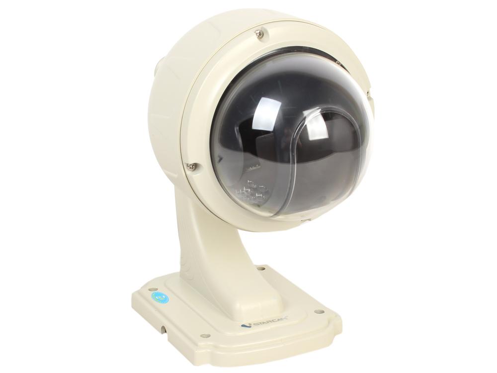 Камера VStarcam С7833WIP (X4) Уличная купольная беспроводная IP-камера 4X Zoom, 1280x720, P2P, 3.6mm, 0.8Lx., MicroSD