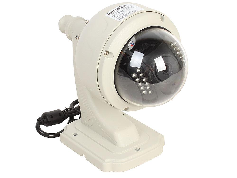 Камера Falcon Eye FE-OMTR1000  Поворотная уличная беcпроводная  IP-камера 1 Мп Объектив 3,6мм;Матрица 1/4 CMOS; Разрешение 1280*720 пикс.; Чувствитель