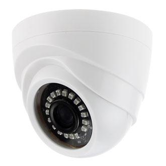 купить Камера Видеонаблюдения GINZZU HID-1031O IP 1.0Mp OV9732, 3.6mm,купол,IR 20м,пластик недорого