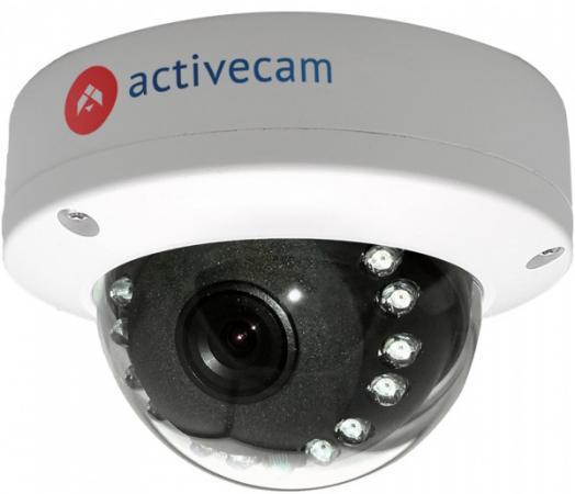 IP-камера ActiveCam AC-D3121IR1 3.6мм цветная корп.:белый камера видеонаблюдения activecam ac ta461ir2 3 6 3 6мм цветная