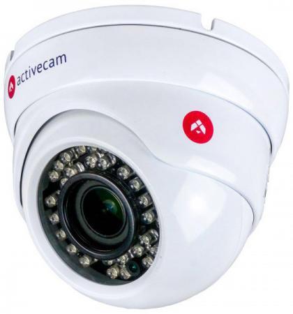 IP-камера ActiveCam AC-D8123ZIR3 2.8-12мм цветная корп.:белый камера видеонаблюдения activecam ac ta461ir2 3 6 3 6мм цветная