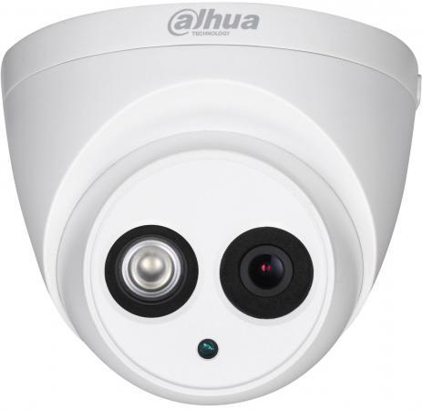 Камера видеонаблюдения Dahua DH-HAC-HDW1100EMP-A-0280B-S3 2.8мм цветная корп.:белый
